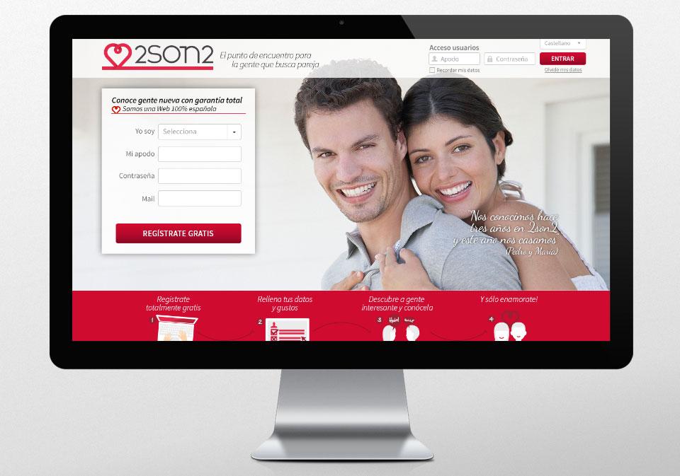 IMAGEN CORPORATIVA DISEÑO WEB 2SON2