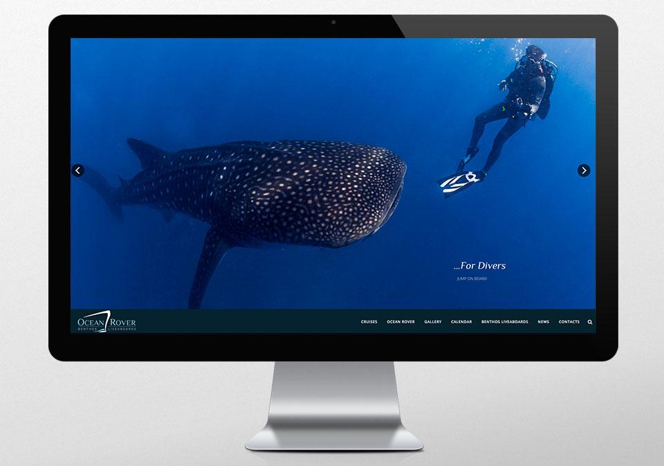 IMAGEN CORPORATIVA DISEÑO WEB OCEAN ROVER
