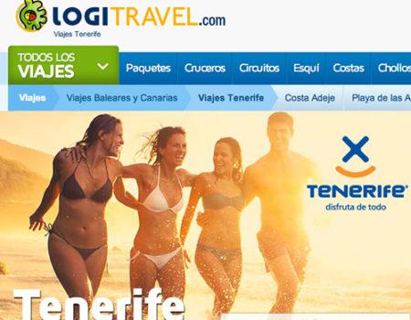 DISEÑO WEB PARA LOGITRAVEL